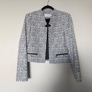 Calvin Klein Leopard Blazer